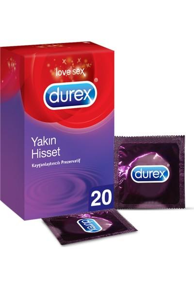 Durex Yakın Hisset İnce Prezervatif 20'li Avantaj Paketi