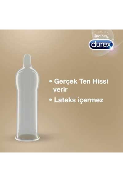 Durex Prezervatif Gerçek Dokunuş 10'lu