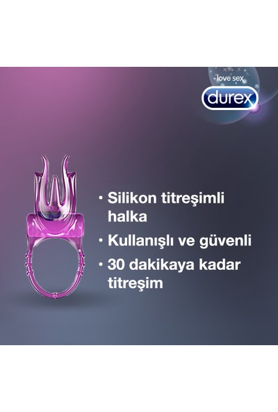 Durex Intense Little Devil Titreşimli Halka