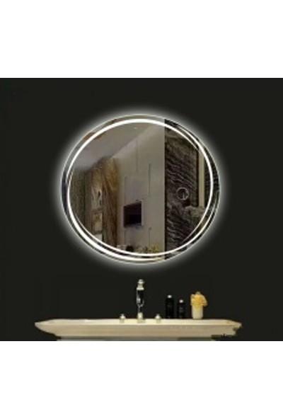Brat Mobilya Ø70 Led Işıklı Ayna
