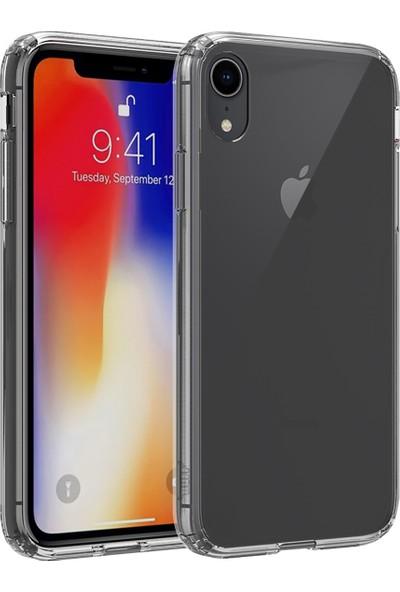 BUFF iPhone XR Air Hybrid Kılıf Smoke Black