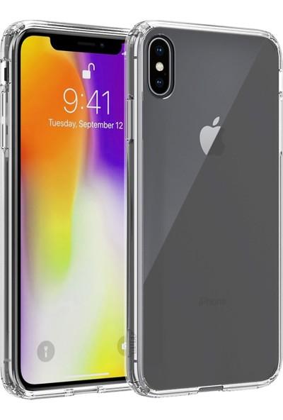 BUFF iPhone Xs Max Air Hybrid Kılıf Crystal Clear