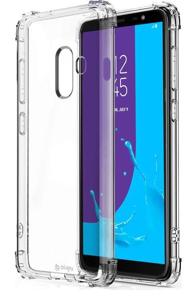 Buff Blogy Galaxy J8 Crystal Fit Kılıf Crystal Clear