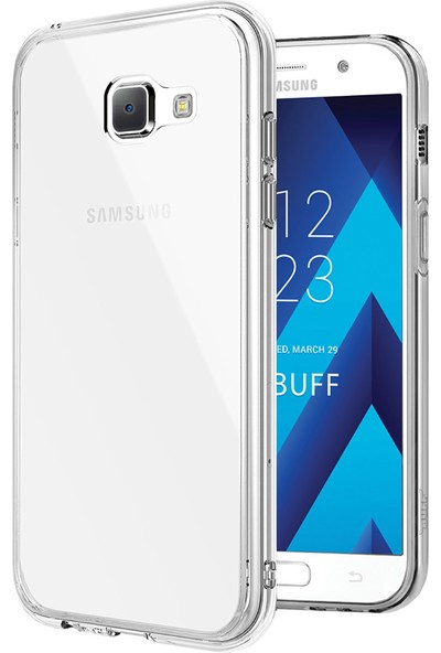 Buff Galaxy A7 2017 Air Hybrid Kılıf Crystal Clear