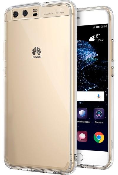 Buff Huawei P10 Air Hybrid Kılıf Crystal Clear