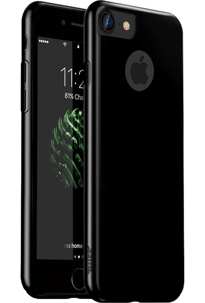 Buff iPhone 7 Slim Fit Kılıf Jet Black
