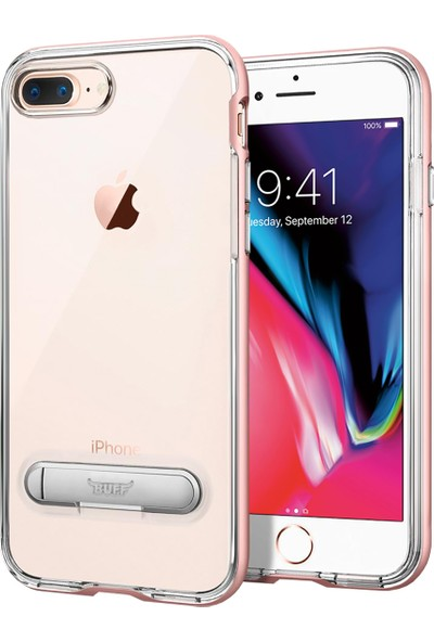 Buff iPhone 8 Plus / 7 Plus Air Bumper Kılıf Rose Gold