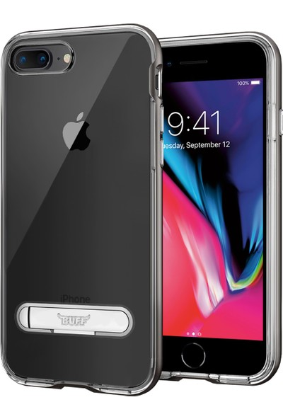 Buff iPhone 8 Plus / 7 Plus Air Bumper Kılıf Space Gray