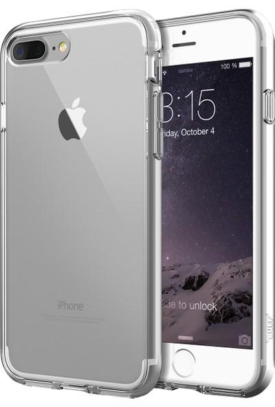 Buff iPhone 8 Plus / 7 Plus Air Hybrid Kılıf Crystal Clear