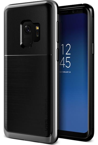 VRS Design Galaxy S9 High Pro Shield Kılıf Steel Silver