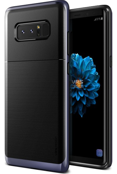 VRS Galaxy Note 8 High Pro Shield Kılıf Orchid Gray