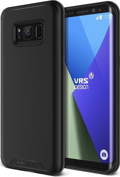 VRS Galaxy S8 Single Fit Kılıf Black