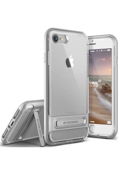 VRS iPhone 8 / 7 Crystal Bumper Kılıf Light Sİlver