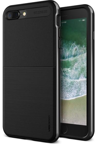 VRS iPhone 8 Plus / 7 Plus New High Pro Shield Kılıf Metal Black