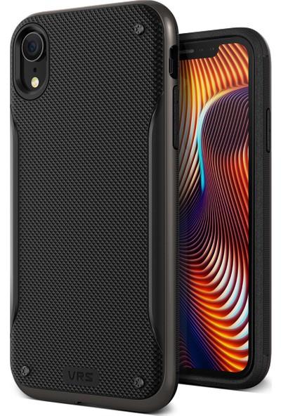 VRS iPhone XR High Pro Shield Kılıf Metal Black