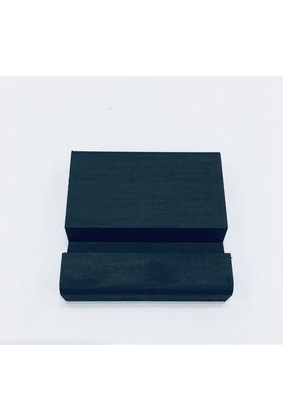 Tuncer Interiors Ahşap Telefon Standı - Siyah