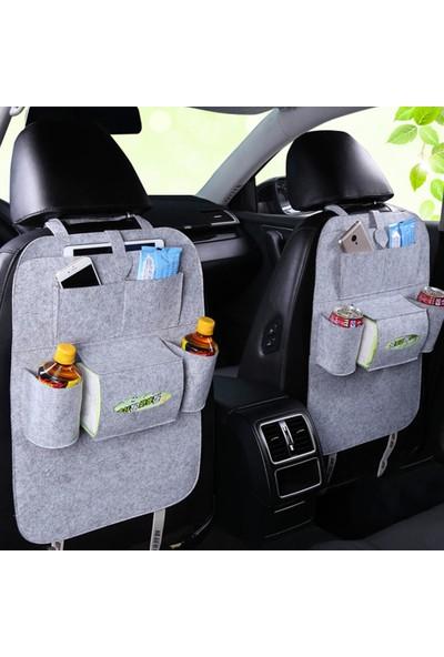 Ankaflex Araç Koltuk Arkası Eşya Düzenleyici Araba Keçe Organizer Toparlayıcı