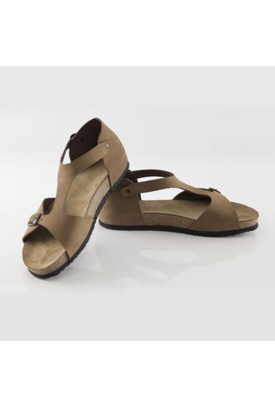 ART'iz Myra Deri Kum Slim Sandalet 41