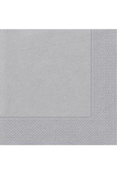 Datapos Gümüş Peçete 33X33 cm 20 Adet