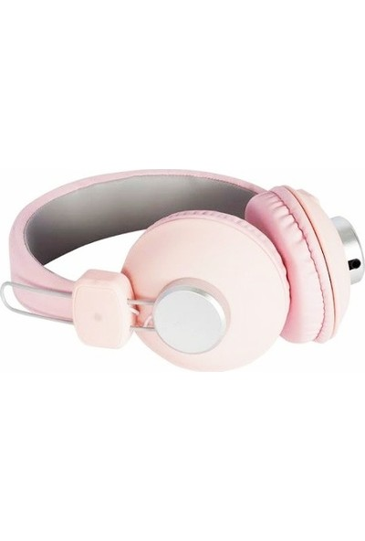 Powermaster Ev-10 Kulak Üstü Kulaklık - Pembe