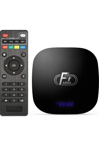Wechip A95X F1 1GB/8GB Android 8.1 TV Box Netflix Youtube Akıllı TV Kutusu
