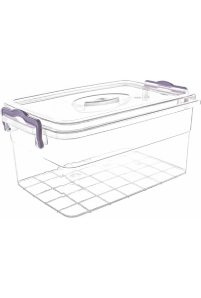 Violet Passion 0968 3Lt Family Box Saklama Kabı