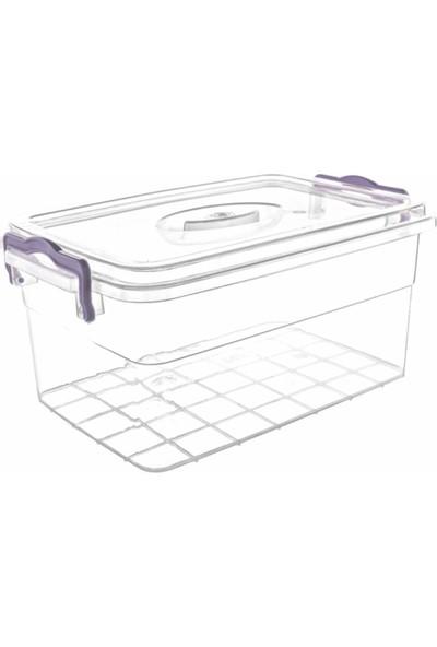 Violet Passion 0969 5Lt Family Box Saklama Kabı