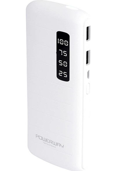 Powerway TX100 Göstergeli Powerbank