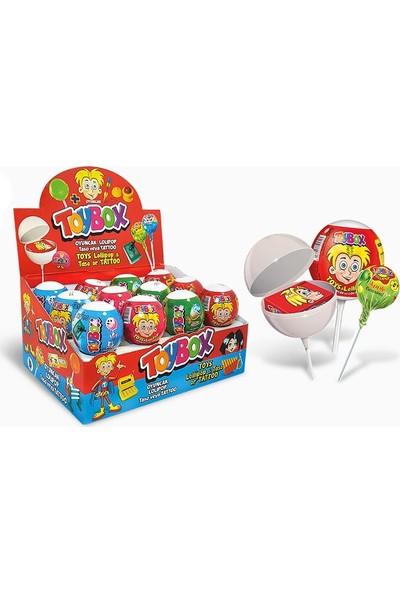 Toybox Oyuncaklı Lollipop 12' li