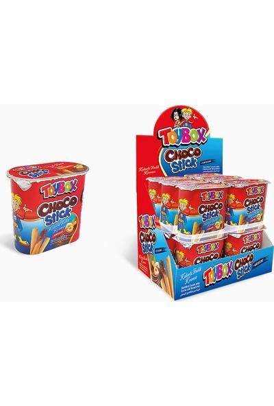Toybox Choco Stick Çikolata + Çubuk Kraker 12' li