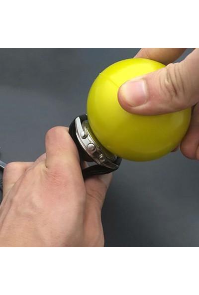 Chrono Kol Saati Vidalı Silikon Arka Kapak Açma Kapama Topu Saatçi Tamir Aparatı