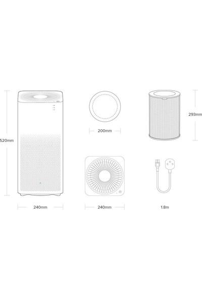Xiaomi Mi Air Purifier 2h Akıllı Hava Temizleyici