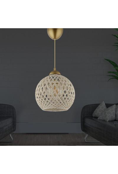 Hmydesign Balle Kırnap-Gümüş Top Sarkıt Avize