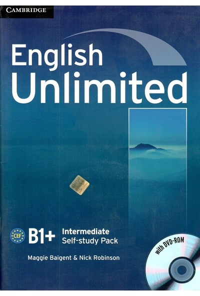 Cambridge University Press English Unlimited Intermediate Self-study Pack