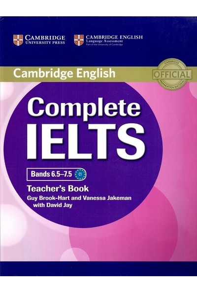Cambridge University Press Complete Ielts Bands 6.5-7.5