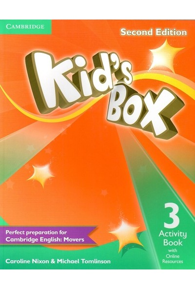 Cambridge University Press Kid's Box Level 3 Activity Book with Online Resources