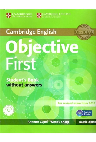 Cambridge University Press Objective First. Student's Book Without Answers