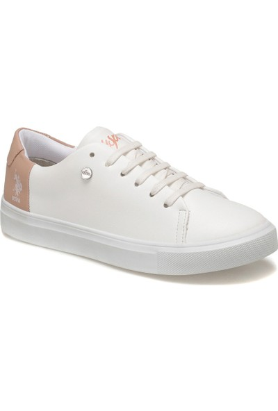 U.S. Polo Assn. Nordes 9Pr Beyaz Kadın Ayakkabı