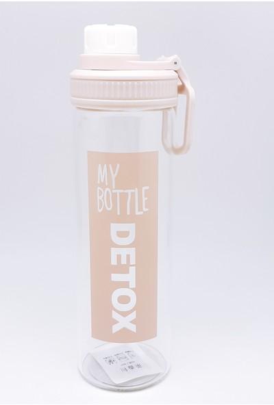 Online Çarşım - My Bottle Detoks Borisilikat Cam Matara, Su Şişesi 550 ml