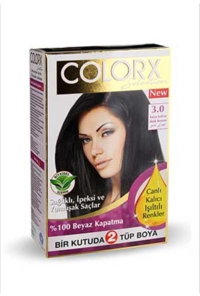 Colorx Selection 2'li Saç Boyası 3.0 Koyu Kahve