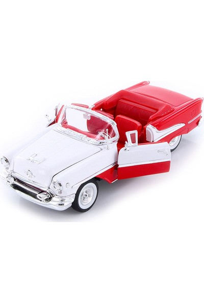 Welly 1:24 1955 Oldsmobile Super 88 Beyaz