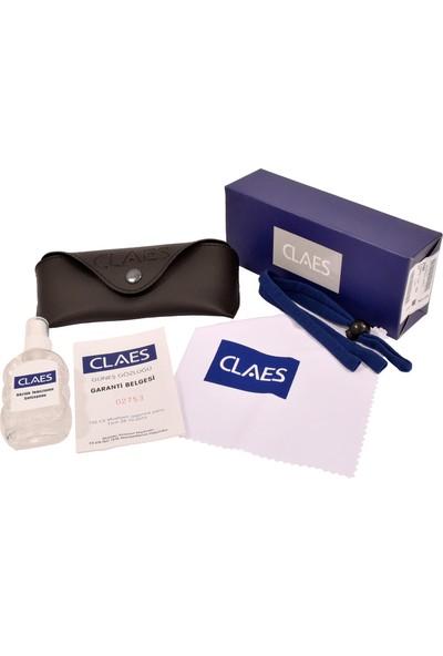 Claes Eyewear 2447 901/30 Polarize Unisex Güneş Gözlüğü