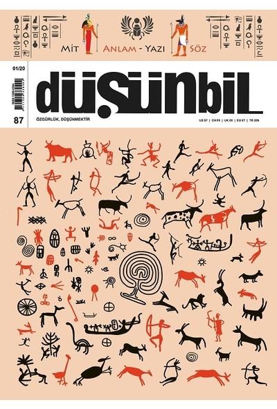 Düşünbil Dergisi Sayı: 87 Ocak 2020
