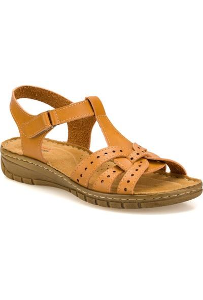 Polaris 91.158589.Z Camel Kadın Sandalet