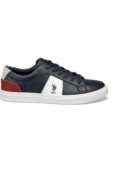 U.S. Polo Assn. Alen Lacivert Erkek Sneaker Ayakkabı