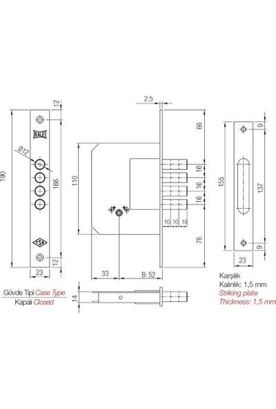 Kale Kilit 189 4mf