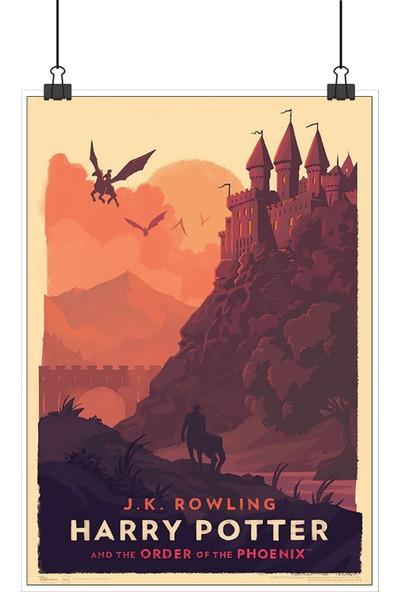 13 Poster Harry Potter Order Phoenix Zümrüdüanka Yoldaşlığı Retro 48 x 33 cm Posteri