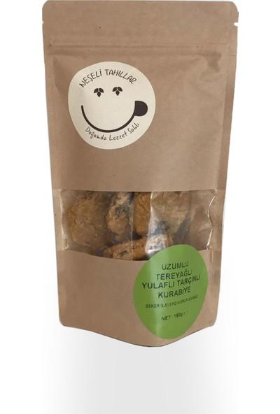 Gekoo Organik Tahinli Üzümlü Vegan Kurabiye 150 gr