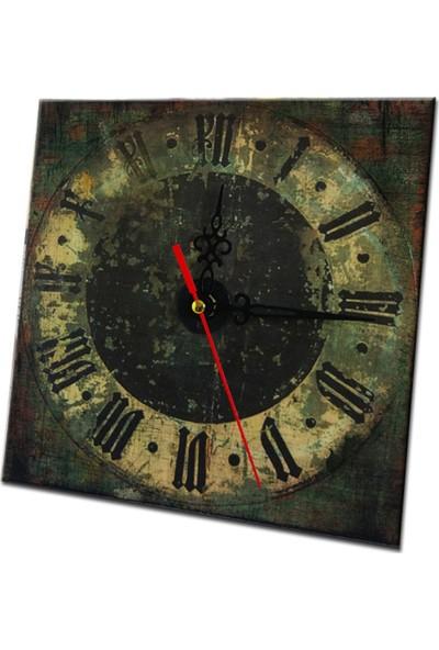 Tepsiburda Ahşap Masa Saati