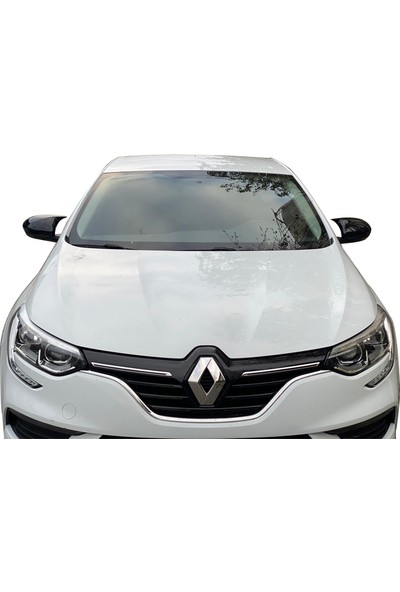 D-Line Renault Megane 4 2016 Sonrası Hb, S - Yarasa Ayna Kapağı (P. Black)